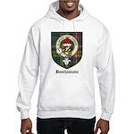 Bouchannane Clan Crest Tartan Hooded Sweatshirt