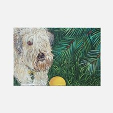 Wheaten4x6 Rectangle Magnet