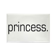Princess Rectangle Magnet