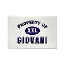 Property of giovani Rectangle Magnet