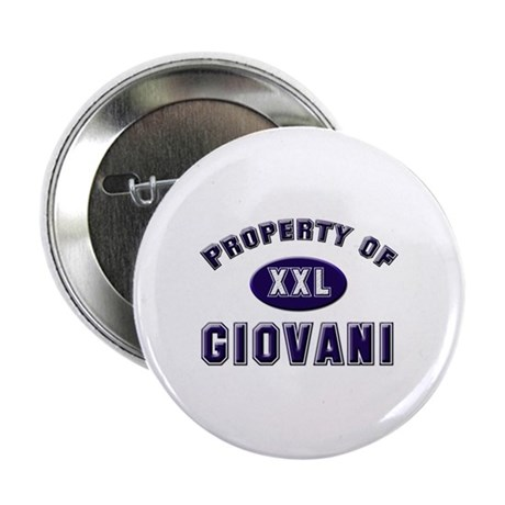 Property of giovani Button