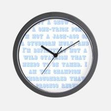 onetrickponyapprentice Wall Clock