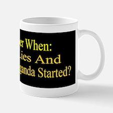 Reagan _Propaganda bumper Sticker Mug