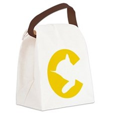 chessieyellow Canvas Lunch Bag