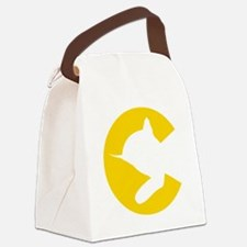 chessieyellow Canvas Lunch Bag