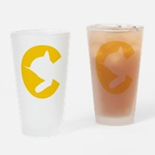 chessieyellow Drinking Glass