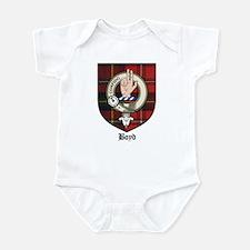Boyd Clan Crest Tartan Infant Bodysuit