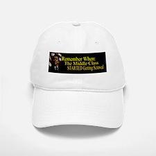 Reagan MiddleClass Screwed Bsticker Baseball Baseball Cap