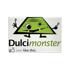 dulcimonster Rectangle Magnet