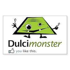 dulcimonster Decal