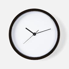 grease for black t-shirts Wall Clock