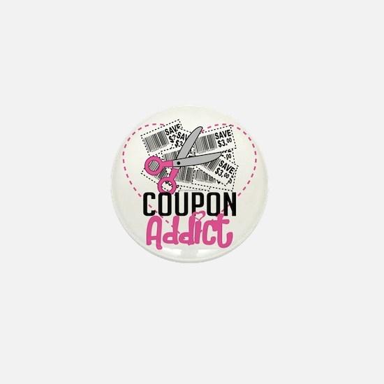 Coupon-Addict Mini Button