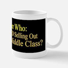 Reagan SellOut MiddleClass bumper stick Mug