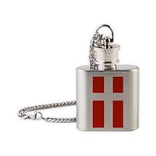 iPhone 4 Slider Case copy Flask Necklace