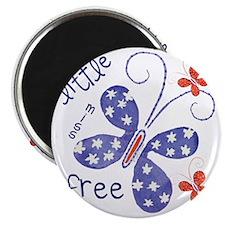 little miss free2 Magnet