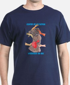 NBlu Center of Attention T-Shirt