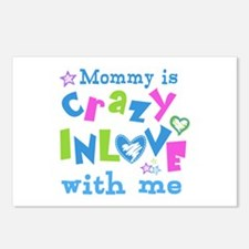 Mommy is Crazy In Love with Me Postcards (Package