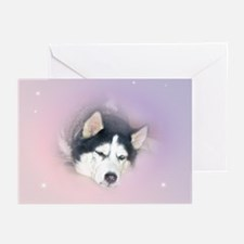 Siberian Husky Greeting Cards (Pk of 10)