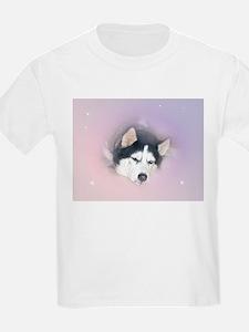 Siberian Husky Kids T-Shirt