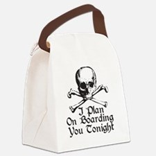boarding Canvas Lunch Bag