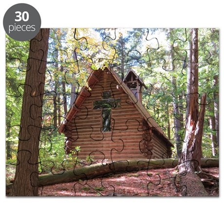 Chapel in Woods Puzzle