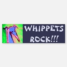 Whippet Bumper Bumper Bumper Sticker