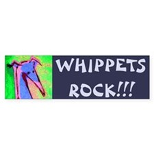 Whippet Bumper Bumper Stickers