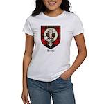 Brodie Clan Crest Tartan Women's T-Shirt