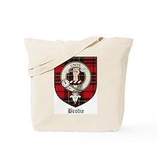Brodie Clan Crest Tartan Tote Bag