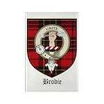 Brodie Clan Crest Tartan Rectangle Magnet (10 pack