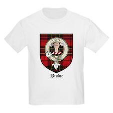 Brodie Clan Crest Tartan Kids T-Shirt