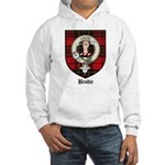 Brodie Clan Crest Tartan Hooded Sweatshirt