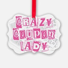 Crazy-Coupon-Lady Ornament