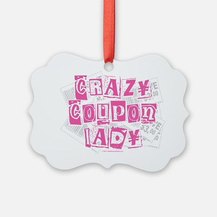 Crazy-Coupon-Lady Ornament