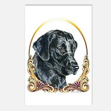 Labrador Retriever Christmas Postcards (Package of