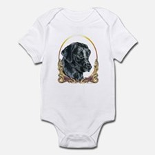 Labrador Retriever Christmas Infant Bodysuit