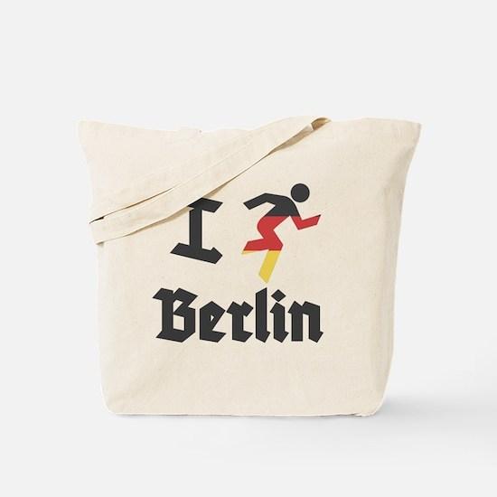 I-Run-berlin-2 Tote Bag