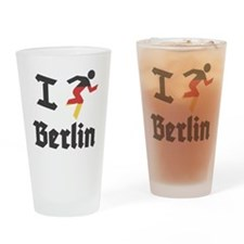I-Run-berlin-2 Drinking Glass