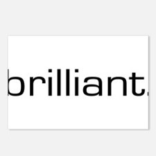 Brilliant Postcards (Package of 8)