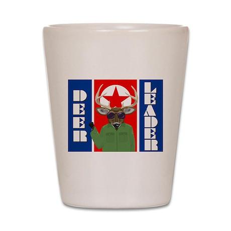 Deer Leader Shot Glass