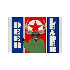 Deer Leader Rectangle Magnet