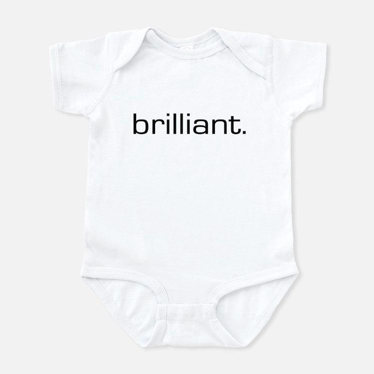 Brilliant Infant Bodysuit