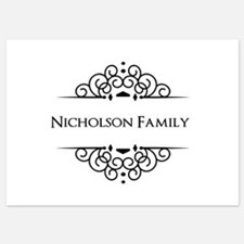Personalized family name Invitations