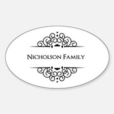 Personalized family name Bumper Stickers