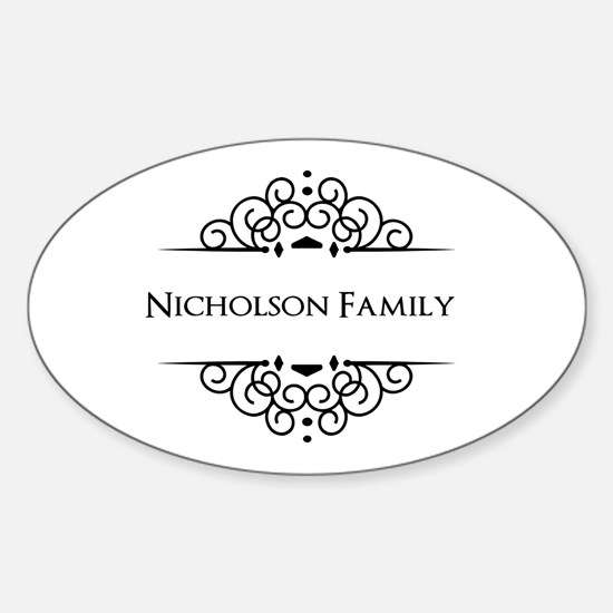 Personalized family name Decal
