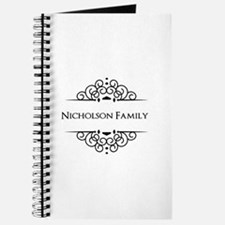 Personalized family name Journal