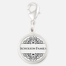 Personalized family name Charms
