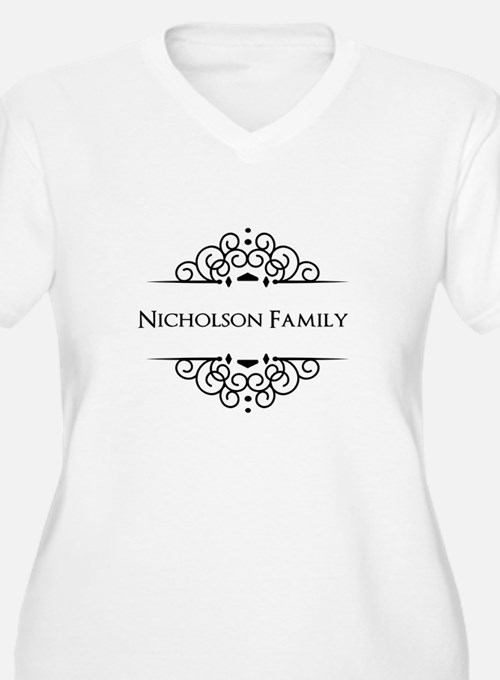Personalized family name Plus Size T-Shirt