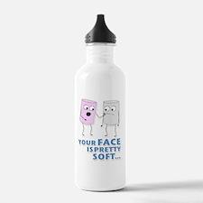 mm-D2-WhiteApparel Sports Water Bottle
