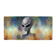 Alien Prism Nebula ~ Beach Towel